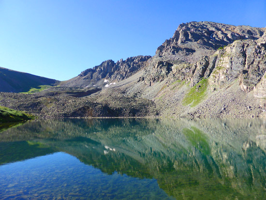 Cathedral Lake (11,866')