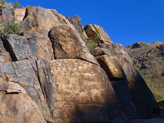 Hieroglyphics Trail - Phoenix Arizona